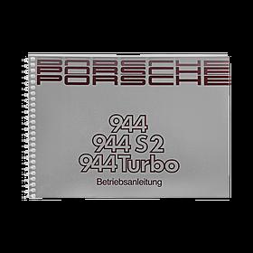 Porsche Instructieboekje voor 944 II, 944 S2, 944 Turbo (Engels) – modeljaar 1989