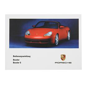 Porsche Instructieboekje voor 986 (Nederlands) – modeljaar 2001