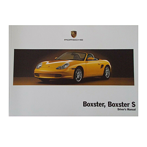 Porsche Instructieboekje voor 986 (Nederlands) – modeljaar 2004