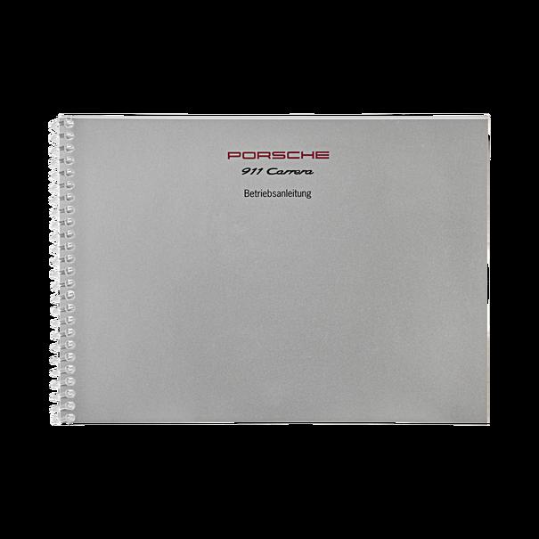 Porsche Instructieboekje voor 911 Carrera 2–4 (Duitstalig) – modeljaar 1995