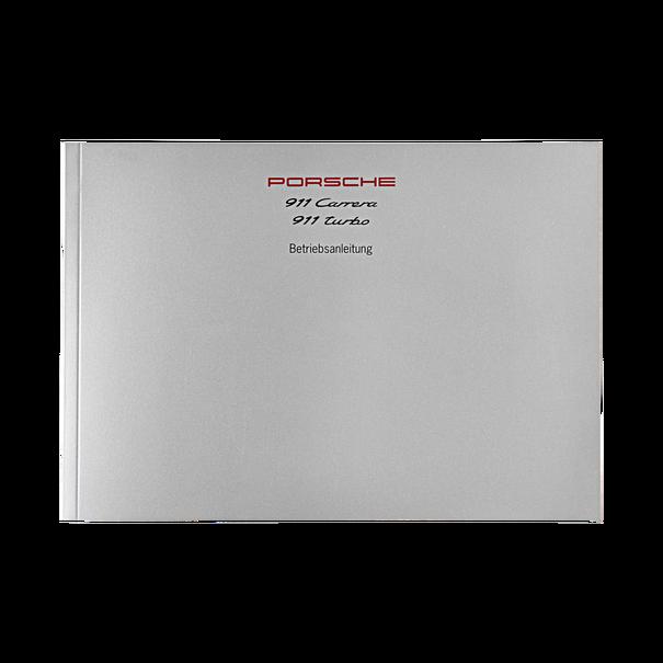 Porsche Instructieboekje voor 911 Carrera 2–4, 911 Turbo (DE) – modeljaar 1998