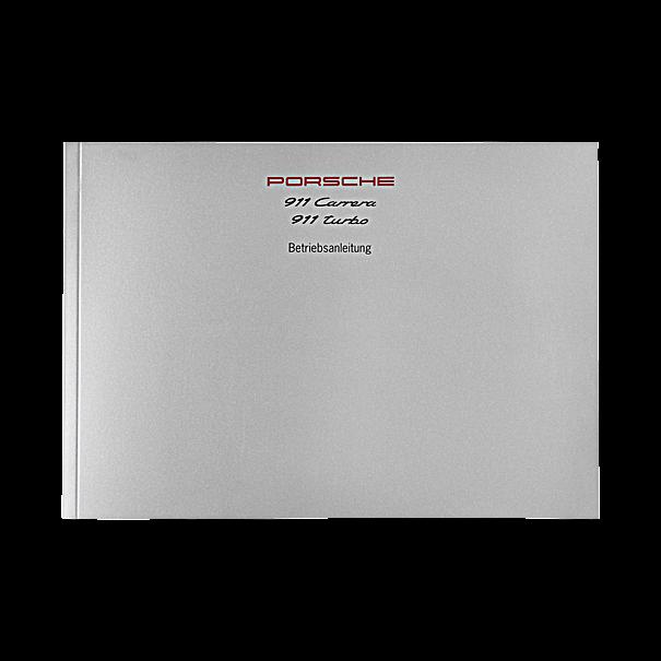 Porsche Instructieboekje voor Carrera 2-4, 911 Turbo  (Engels) – modeljaar 1996