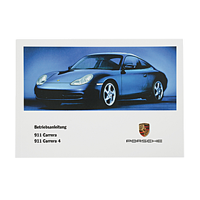 Porsche Instructieboekje voor 996 (Nederlands) – modeljaar 2000