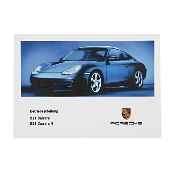 Porsche Instructieboekje voor 996 (Nederlands) – modeljaar 2001