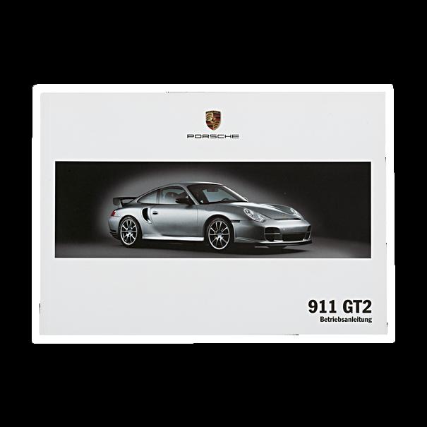 Porsche Instructieboekje voor GT 2 (Duits) – Modeljaar 2004