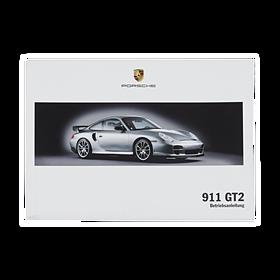 Porsche Instructieboekje voor 911 GT2 (Duits) – Modeljaar 2005