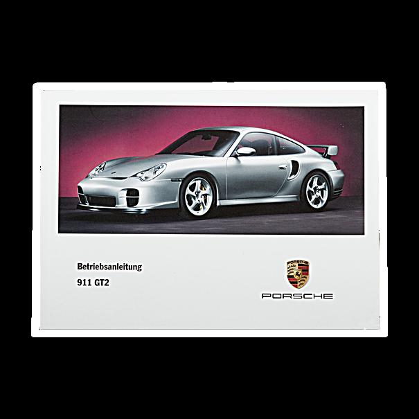Porsche Instructieboekje voor 911 GT2 (Engels) – Modeljaar 2002