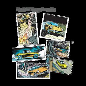 Porsche StripalbumRikRingers - 50 jaar 911 Targa