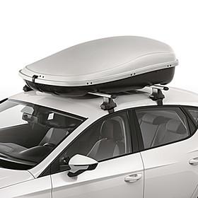 SEAT Bagagebox, 450 liter, titaangrijs