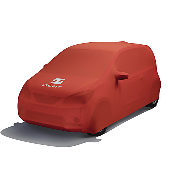 SEAT Autohoes rood met logo