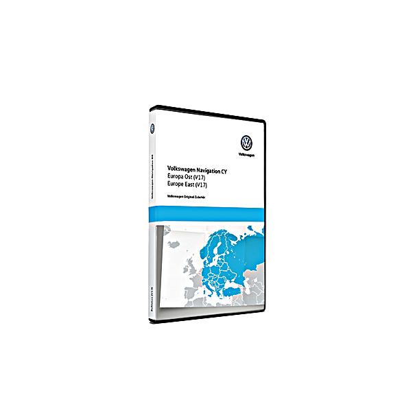 SEAT Navigatie update, Oost-Europa (V17)