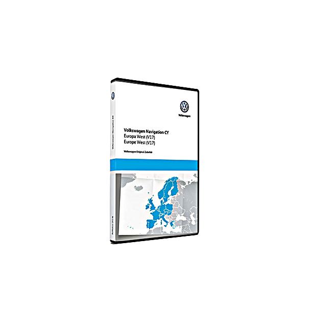 SEAT Navigatie update, West-Europa (V17)