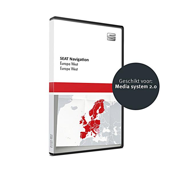 SEAT Navigatie SD kaart FX-platform, West-Europa V10