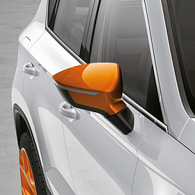 SEAT Spiegelkappen Samoa Orange