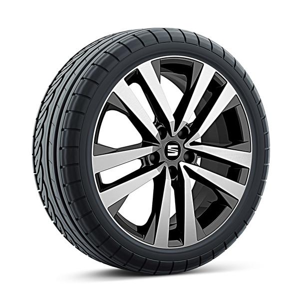 SEAT 18 inch lichtmetalen zomerset Puigmal Diamond Black