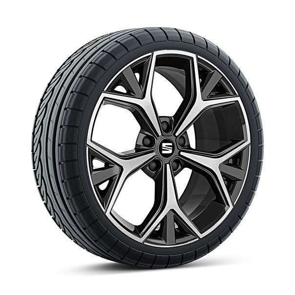 SEAT 19 inch lichtmetalen zomerset Aneto black