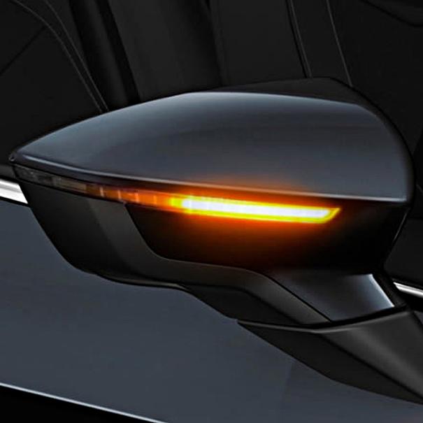 SEAT Dynamische LED knipperlichten in de buitenspiegels, donke getint