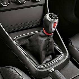 SEAT Pookknop sport rood, 6 versnellingen, Leon