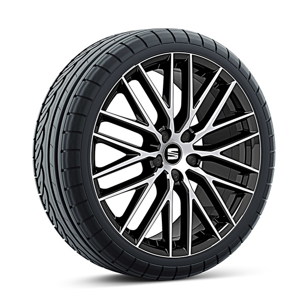 SEAT 19 inch lichtmetalen winterset CUPRA 290 zwart