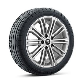 SEAT 17 inch lichtmetalen winterset Dynamic, Continental