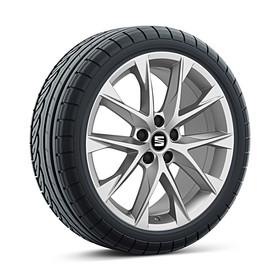 SEAT 18 inch lichtmetalen winterset Performance, Continental