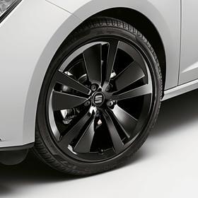 SEAT 18 inch lichtmetalen zomerset, 5-V spaak zwart