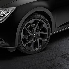 SEAT 18 inch lichtmetalen zomerset, Performance zwart