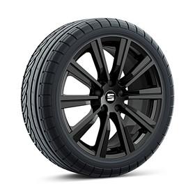 SEAT 18 inch lichtmetalen zomerset Cup Racer, zwart