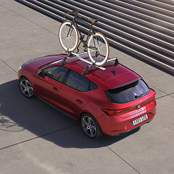 SEAT Thule fietshouder voor op dakdragers, 1 fiets