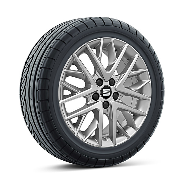 SEAT 16 inch lichtmetalen winterset Design, Uniroyal