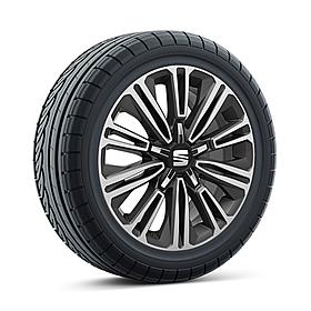 SEAT 16 inch lichtmetalen winterset Design Machined, Uniroyal
