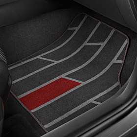 SEAT Velours mattenset Ibiza, Special Red