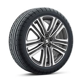 SEAT 17 inch lichtmetalen winterset Dynamic Grey, Continental