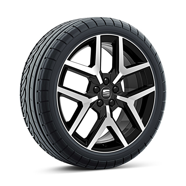 SEAT 18 inch lichtmetalen winterset Performance Black R, Continental