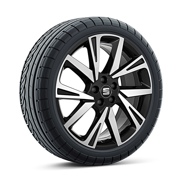 SEAT 18 inch lichtmetalen zomerset Performance Black