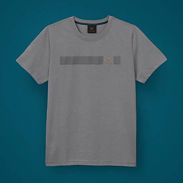 SEAT CUPRA T-shirt 3D, grijs