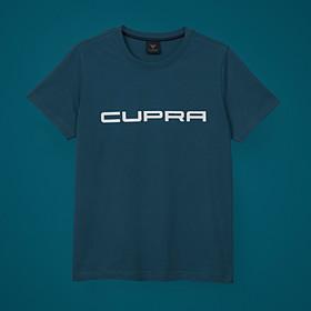 SEAT CUPRA T-shirt, petrol blauw