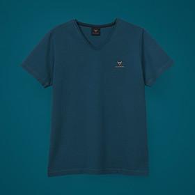 SEAT CUPRA T-shirt V-hals, petrol blauw