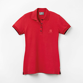SEAT Poloshirt dames rood