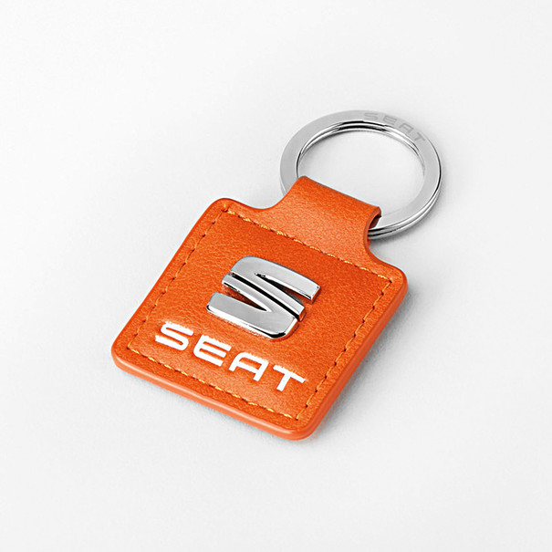 SEAT Sleutelhanger oranje