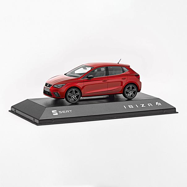 SEAT Modelauto Ibiza Desire Red