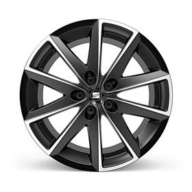 SEAT 17 inch zomerset 10-spaak zwart