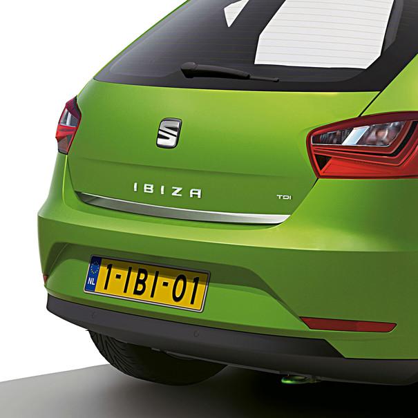 SEAT Chroomlook achterklep sierstrip, Ibiza SC