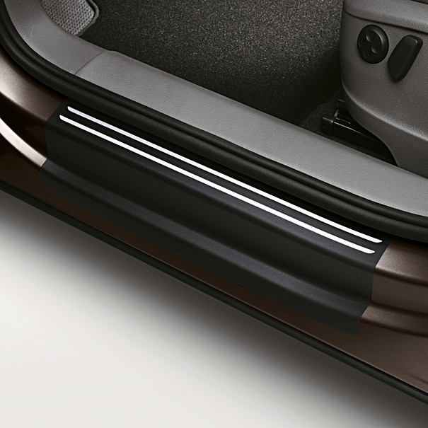 SEAT Instapfolie zwart/zilver, Alhambra