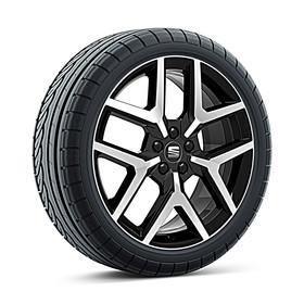 SEAT 18 inch lichtmetalen winterset Performance Black, Michelin