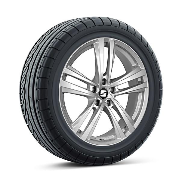 SEAT 16 inch lichtmetalen winterset Abrera, Pirelli