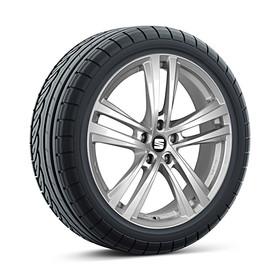 SEAT 17 inch lichtmetalen winterset Abrera, Pirelli