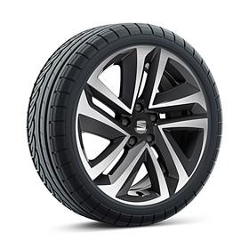 SEAT 18 inch lichtmetalen winterset Performance Machined, Michelin