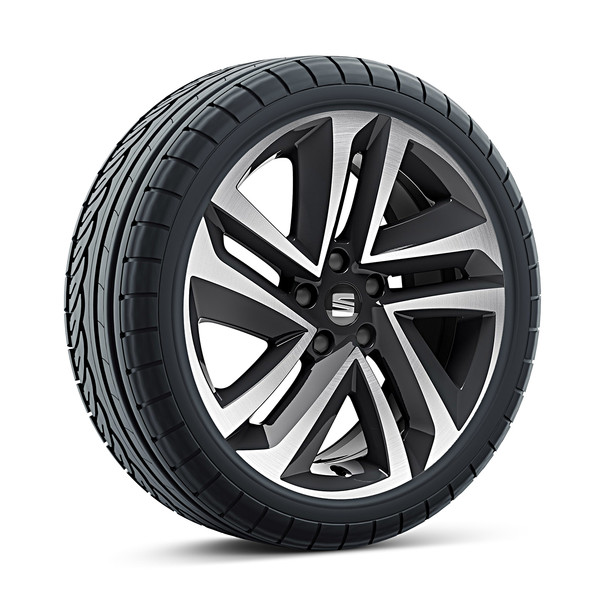 SEAT 18 inch lichtmetalen winterset Performance Machined, Michelin