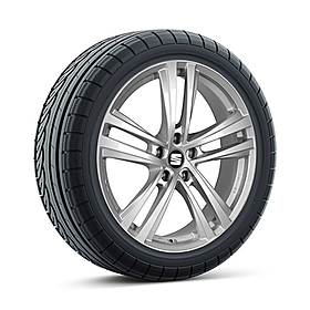 SEAT 16 inch lichtmetalen winterset Abrera, Bridgestone